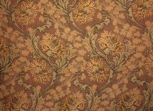 tissu ancien motifs de chardons style tapisserie 1900. Black Bedroom Furniture Sets. Home Design Ideas