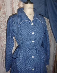JOLIE BLOUSE ROBE ANCIENNE ANNEES 50 CAMPAGNE