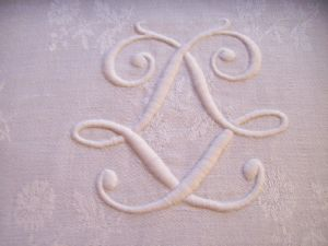 GRAND MONOGRAMME ANCIEN LL )))