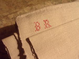 drap ancien en lin 19 eme toile tres tres rustique. Black Bedroom Furniture Sets. Home Design Ideas