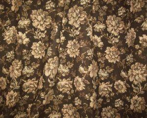 beau tissu ancien tapisserie fleurs rideaux coussins. Black Bedroom Furniture Sets. Home Design Ideas