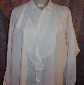 belle chemise ancienne pour homme couronne et rare grande taille. Black Bedroom Furniture Sets. Home Design Ideas