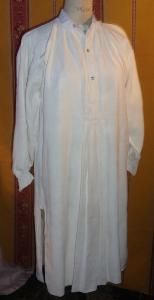 BELLE CHEMISE ANCIENNE ..LIN..HOMME..19 EME