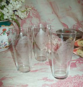verre ancien champagne, collection, Mumm, blida