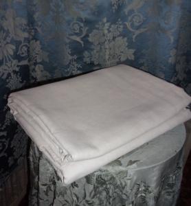drap ancien en lin un peu rustique belle toile. Black Bedroom Furniture Sets. Home Design Ideas